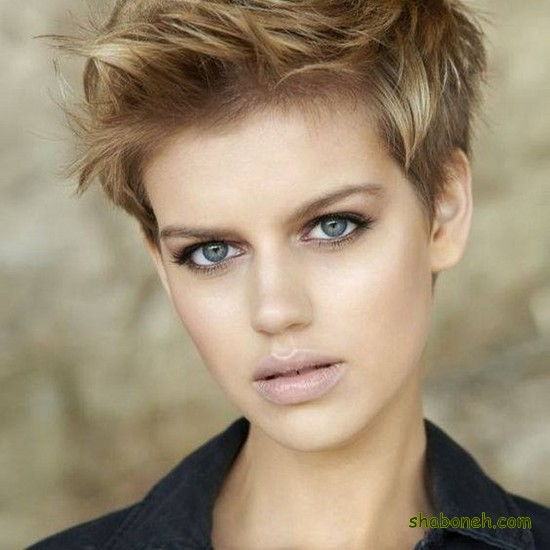 مدل مو کوتاه زنانه برای عروسی