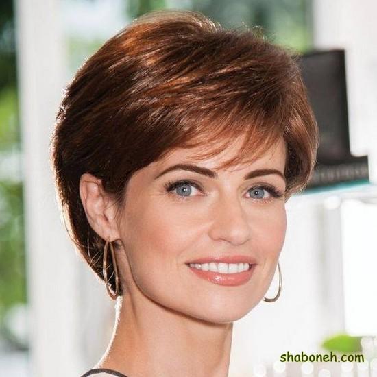 مدل مو کوتاه دخترانه مجلسی جدید