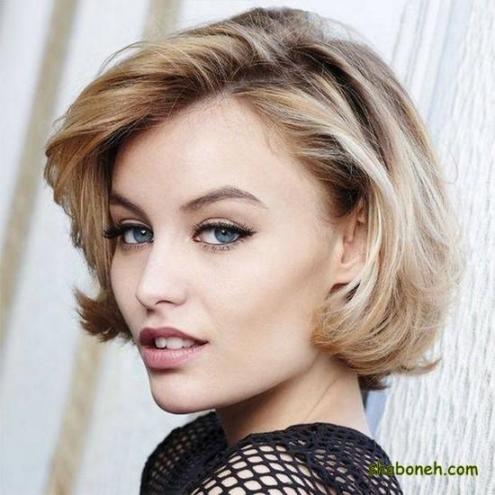 مدل مو کوتاه زنانه فر