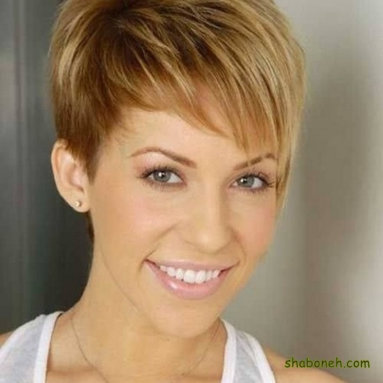 مدل مو کوتاه دخترانه مجلسی ساده