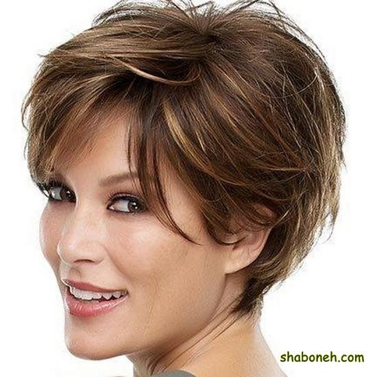بافت مو کوتاه دخترانه مجلسی