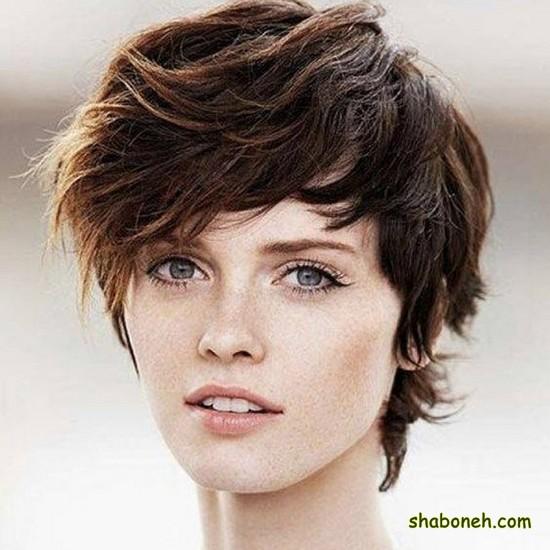 مدل مو کوتاه زنانه مصری