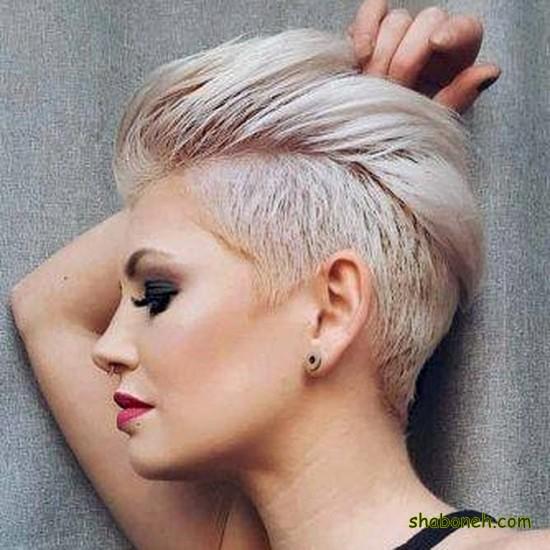 عکس موی کوتاه دخترانه برای پروفایل