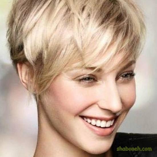 عکس مو کوتاه دخترانه جدید