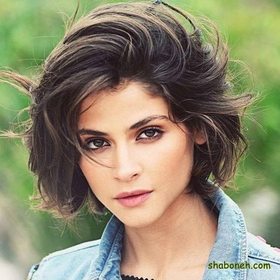 عکس موهای کوتاه دخترانه جدید