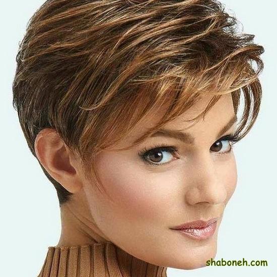 مدل مو کوتاه دخترانه برای عروسی