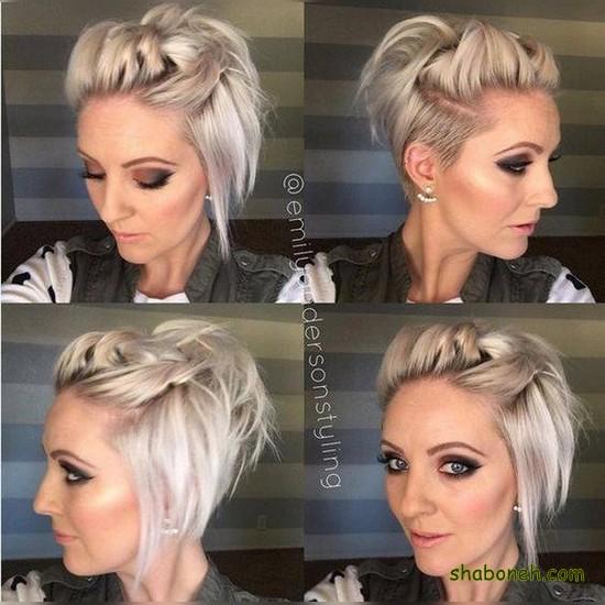 مدل موهای کوتاه دخترانه زیبا