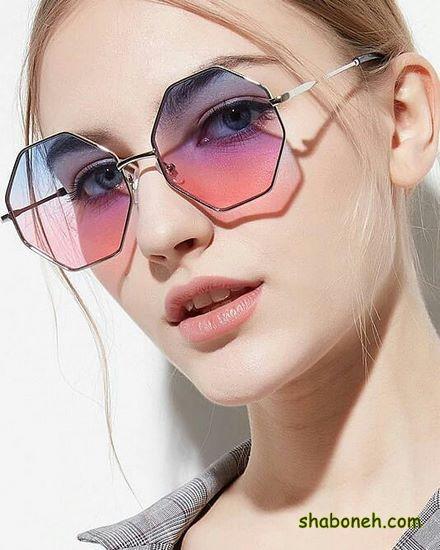 مدلهای عینک آفتابی زنانه رنگی