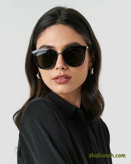 مدلهای عینک دودی دخترانه تمام مشکی