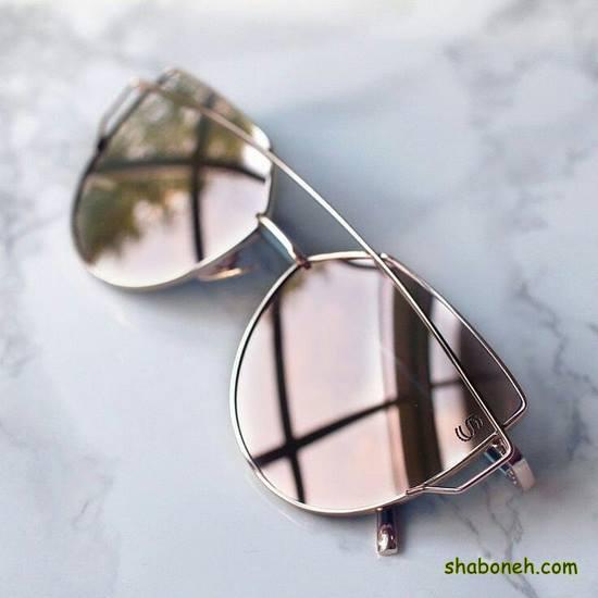 جدیدترین مدلهای عینک آفتابی آینه ای زنانه