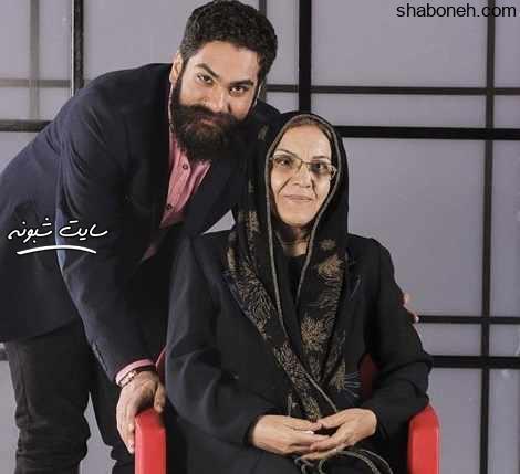 علی زند وکیلی خواننده و مادرش