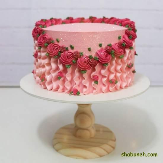 انواع کیکهای تولد دخترانه