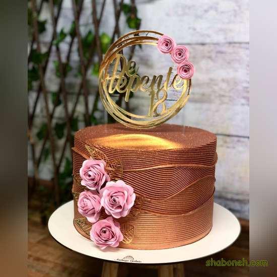 عکس کیک تولد دخترانه
