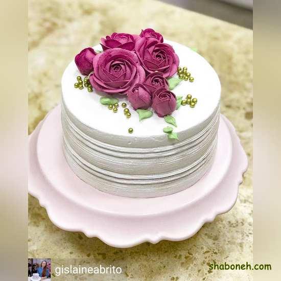 عکس کیک تولد زیبا دخترانه