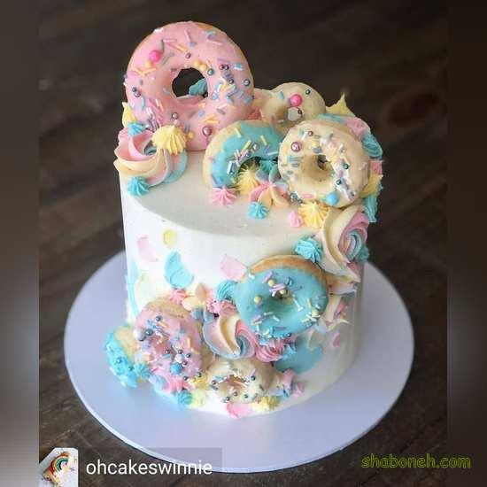 عکس کیک تولد زیبا پسرانه