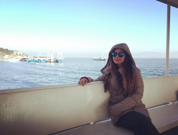بیوگرافی زهرا دباغیان بازیگر نقش عطیه (نامزد قاسم) در سریال بچه مهندس 3
