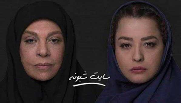گوهر خیر اندیش و مهراوه شریفی نیا در فیلم گورگن