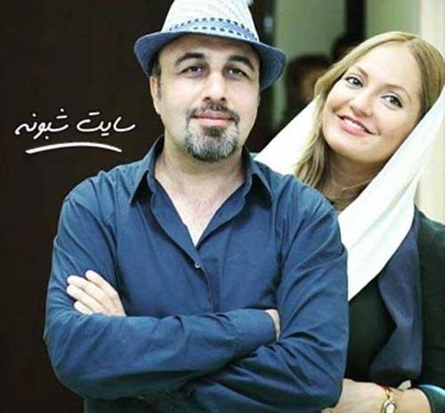 رضا عطاران و مهناز افشار