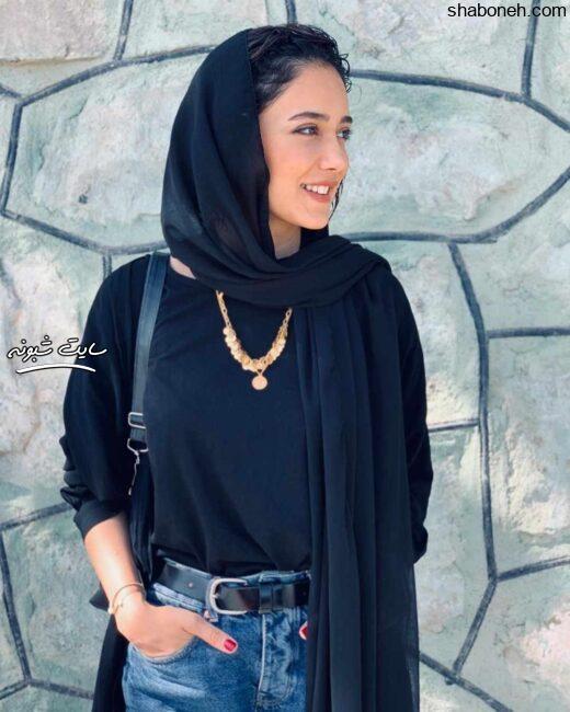 عکسهای ساقی حاجی پور بازیگر نقش هدیه در سریال هم گناه