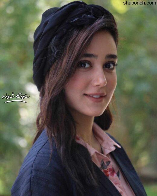 بیوگرافی و عکس های ساقی حاجی پور بازیگر نقش هدیه در سریال هم گناه