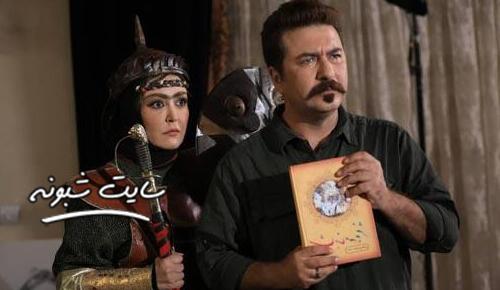 امیر حسین صدیق در سلفی با رستم