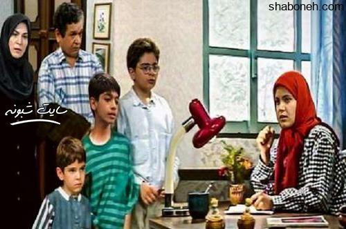سهیلا عزیزی بازیگر سریال دنیای شیرین