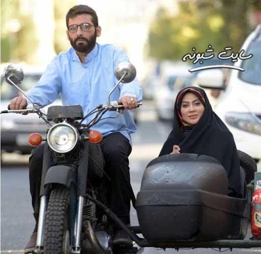 زهرا جهرمی بازیگر سریال موچین
