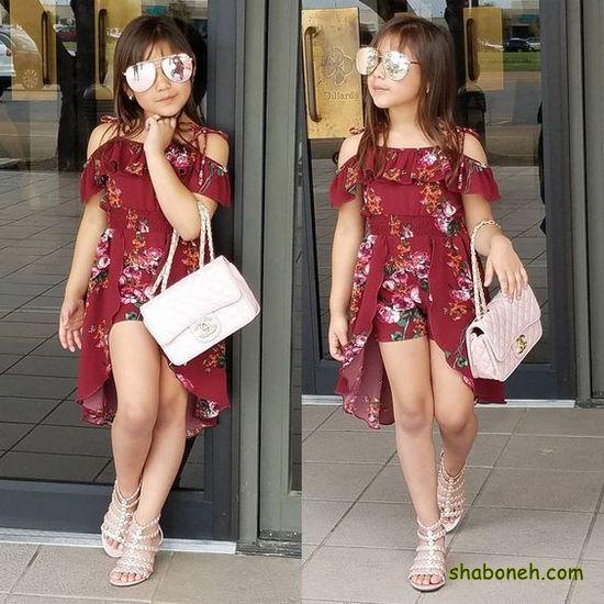 لباس دختر بچه گانه دخترانه