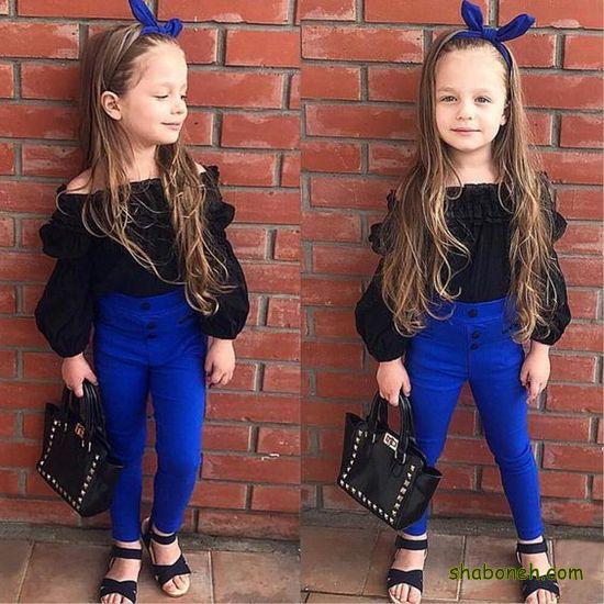 مدل لباس مجلسی بچگانه دخترانه