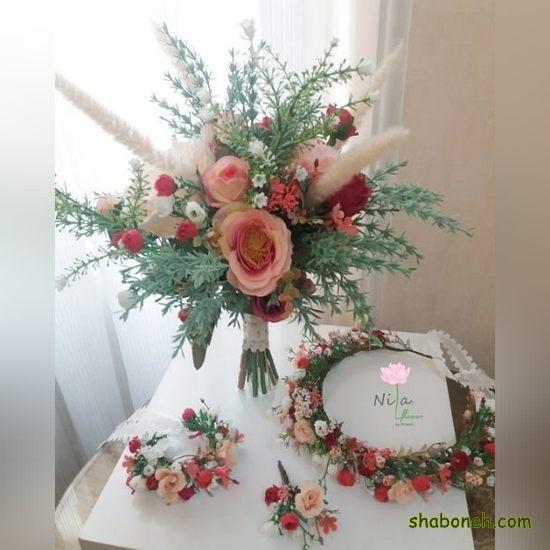 دسته گل خاص عروس اینستاگرام