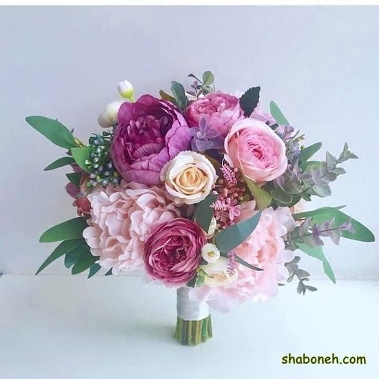 دسته گل عروس جدید 99