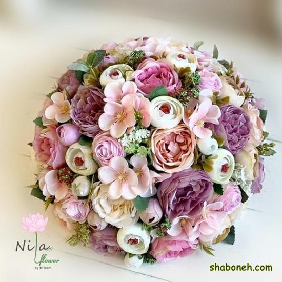 دسته گل عروس جدید در اینستا مدرن