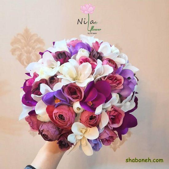 دسته گل عروس جدیدترین مدل مدرن لاکچری