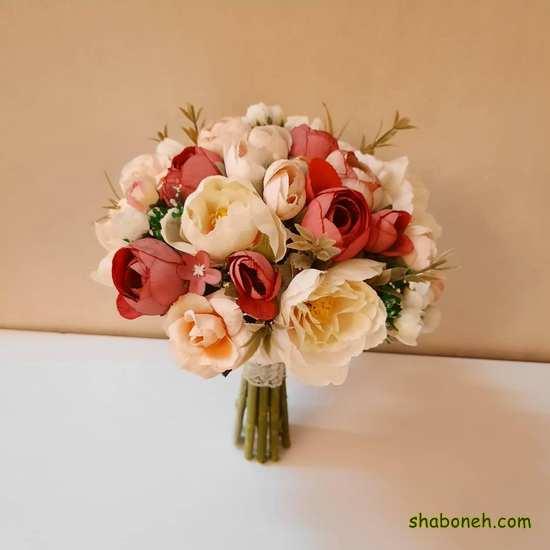 دسته گل عروس شیک 99 اروپایی