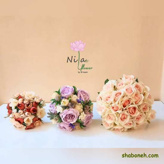 دسته گل عروس جدید اینستاگرام مدرن لاکچری