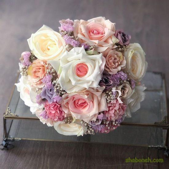 دسته گل عروس جدید اینستا مدرن