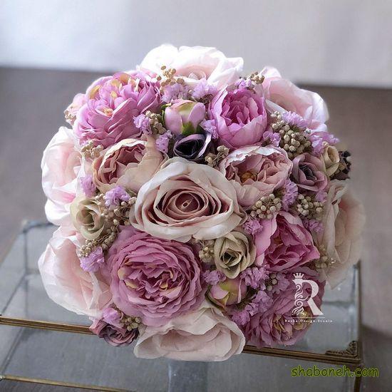 دسته گل شیک عروس 99 اروپایی