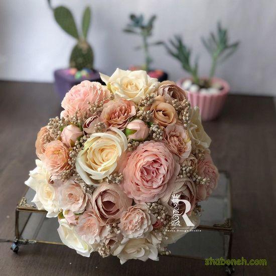 دسته گل عروس مصنوعی شیک