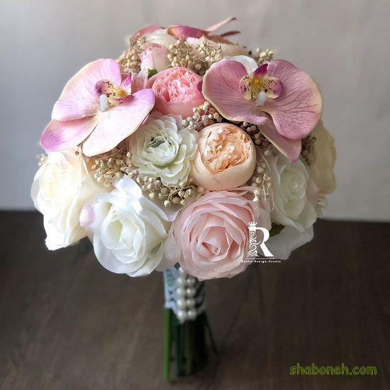 دسته گل عروس جدید و شیک مدرن