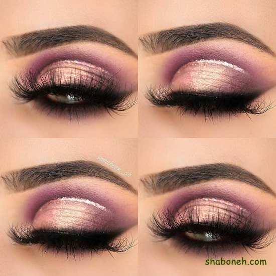 زیباترین مدل سایه چشم های عروس