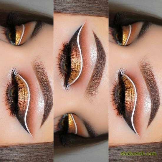 میکاپ چشم بسیار زیبا