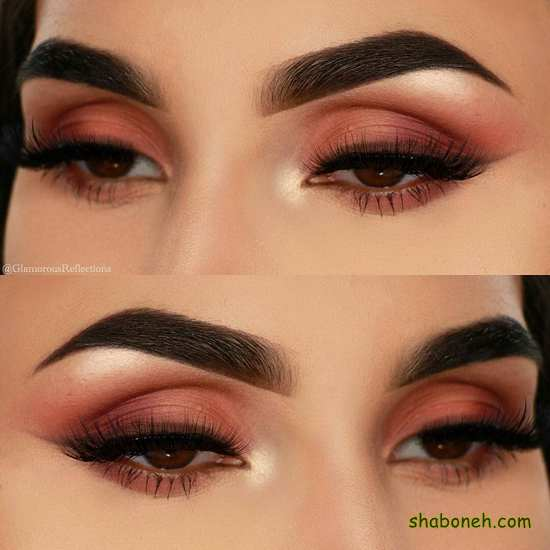 ارایش چشم لایت دخترانه