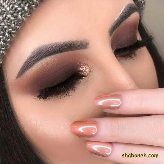 آرایش چشم ساده و زیبا