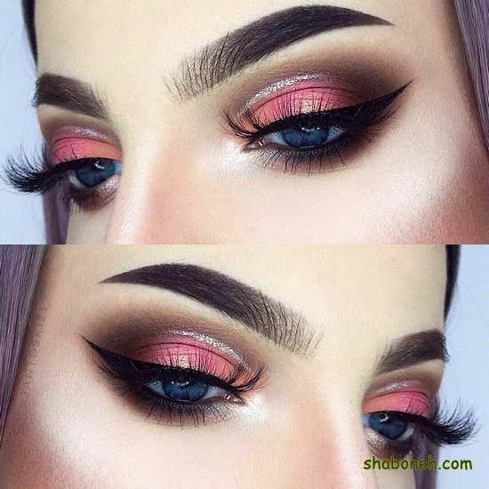میکاپ زیبای چشم