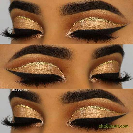 زیباترین مدل سایه ی چشم