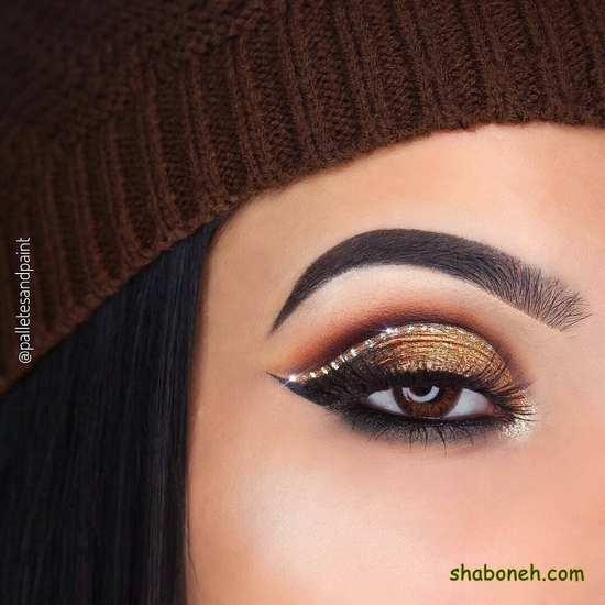 آرایش چشم ساده روزانه