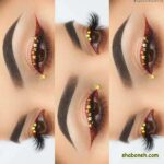 مدل خط چشم جدید 2020 - 99 | آرایش چشم لایت و زیبای دخترانه با سایه زیر چشم