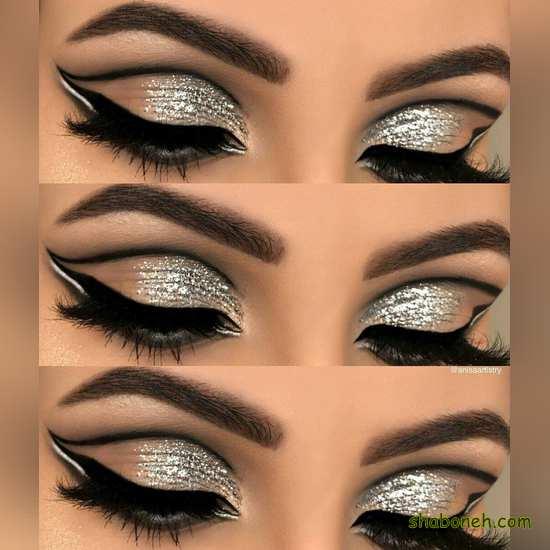 آموزش آرایش چشم مجلسی