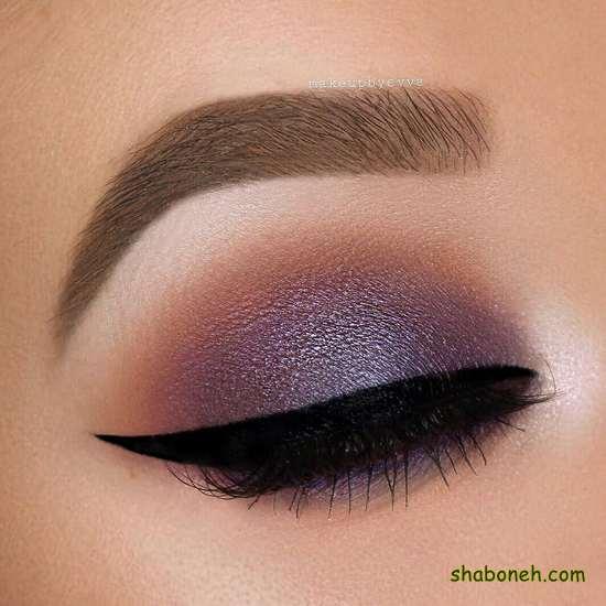زیباترین مدل سایه چشم عربی