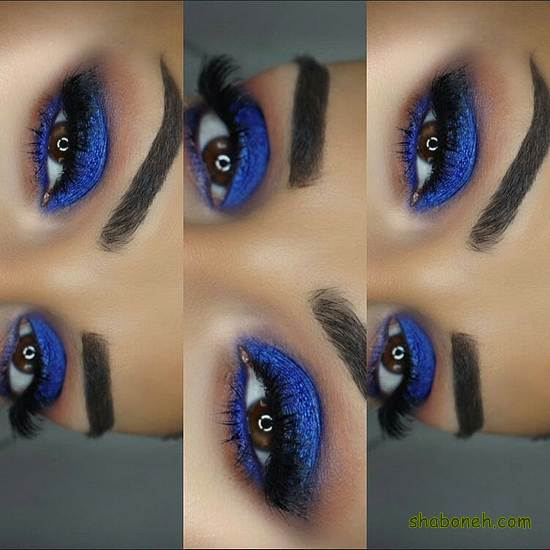 میکاپ خط چشم زیبا
